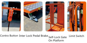 Mobile Aerial Stock Picker (Triple Masts) for 6.50 (m) pictures & photos