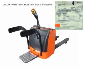 2 Ton Electric Stacker Orange Color pictures & photos