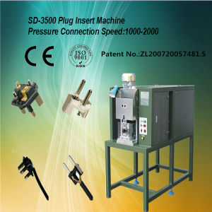 Electrical Plug Automatic Wire Crimping Machine for French Type 600 ~ 1000 PCS / Hours pictures & photos