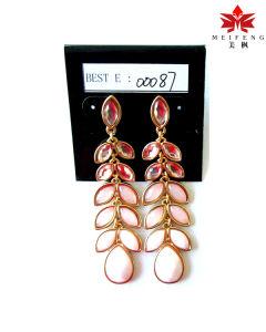 Fashion Jewelry Drop Shape with Diamond Earring Jewelry