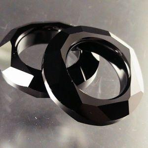4139 Black Crystal Circle-Crystal Jewelry Bead (TL09080311)