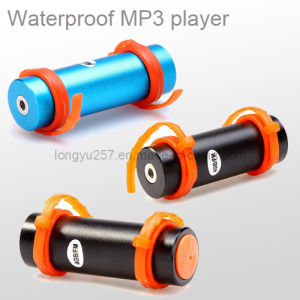 Waterproof MP3 Player with FM Radio CE and RoHS Certification (LY-P3287)