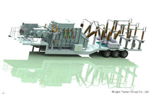 Prefabricated 132kv -16kv Mobile Substation pictures & photos