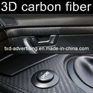 Self-Adhesive Top Quality 3D Carbon Fiber Vinyl