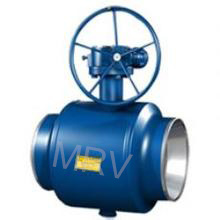 High Quality Gear Operated Fully Welded Ball Valve