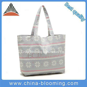 Fashion Leisure Personality Girls Shoulder Shopping Canvas Bag pictures & photos