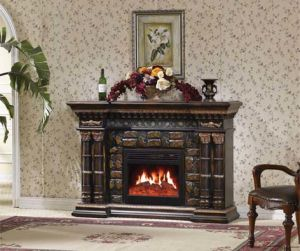 Freestanding Electric Fireplace / European Style Fireplace (633) pictures & photos