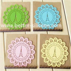 Hot Sale Customized Soft Silicone Cup Pad pictures & photos