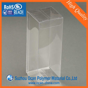 Offset Printing Transparent Rigid Pet Sheet Roll 0.3mm for Folding Box pictures & photos