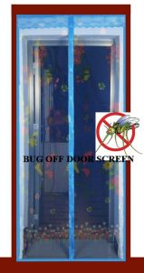 2013 New Buzz off Screens Magnetic Fly Screens Close Automatically