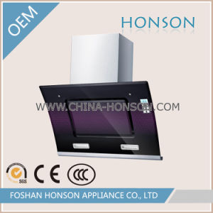 Side Suction Tempered Glass Low Noise Range Hood