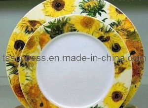 Royal Bone China Dinner Set With Traditional Flower Design