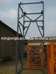 Hydraulic Jacking up Frame of Hydraulic Tower Crane pictures & photos