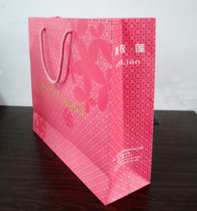 Hot Paper Bag for Packaging Gift