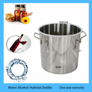Hote Sale 18L/5 Gal Stainless Boiler Copper Ethanol Alcohol Water Distiller Moonshine Still with Thump Keg pictures & photos