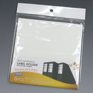 Self-Adhesive Label Holder With Blank Inserts (YP-42) pictures & photos