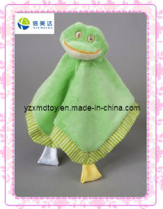 Green Frog Soft Plush Baby Blanket pictures & photos