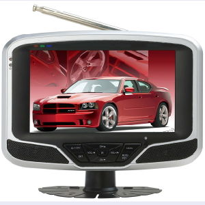 "7"" LCD Digital ATSC+NTSC TV with Media Function/Battery (ATSC-718)"