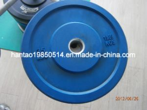Blue Rubber Barbell Plate