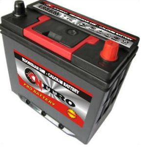 Storage Battery N45 50b24L 12V45 pictures & photos