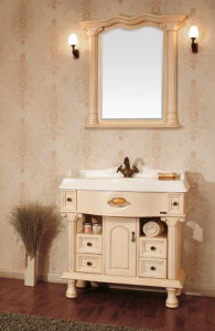 European Style/Solid Wooden Bathroom Cabinet/Vanity (KA955)