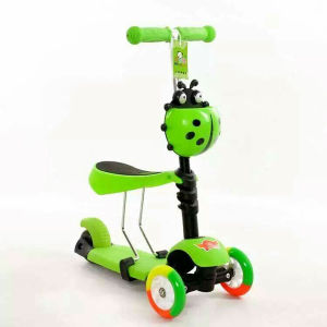 3 Wheel Folding Children Kick Scooter with Different Colours pictures & photos
