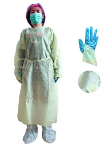 Hospital Medical Doctor Gown in China Mainland pictures & photos