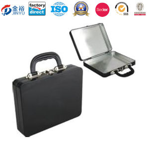Custom Blank Plain Portable Metal Lunch Box with Lock and Handle Lunch Tin Box pictures & photos