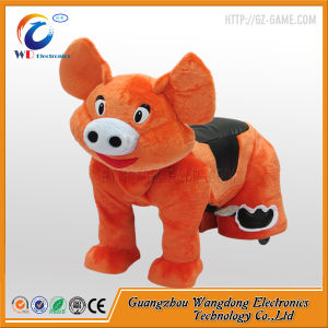 Plush Piggy Small Ride on Zippy Animal for Kids pictures & photos