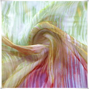 Printed Silk Fabrics for Chiffon pictures & photos