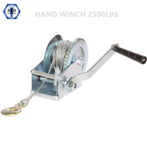 2500lbs (1100KG) Hand Winch pictures & photos