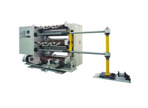 Automatic Adhesive Tape Paper Machinery Used Slitting Machine