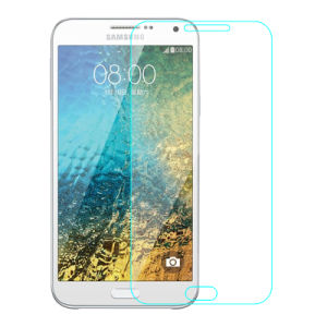 Oleophobic Coating 0.33mm Mobile Phone Screen Protector for Samsung Galaxy E5