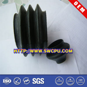 Rubber Bending Mulit-Convolute Dustproof Bellows for Mechanical (SWCPU-R-B993) pictures & photos