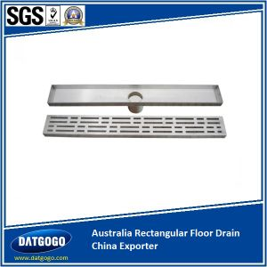 Popular Tile Insert Floor Drain for Personal Luxury Villa pictures & photos