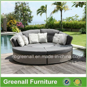 Round Leisure Sun Bed, Garden Bed, Leisure Furniture pictures & photos