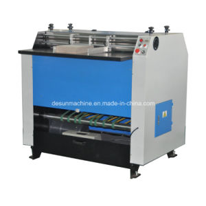 Semi-Automatic Cardboard V Notching Machine Yx-1200 pictures & photos