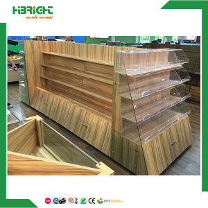 Wooden Vegetable and Fruit Display Rack for Stores pictures & photos