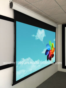 92 Inch Tab Tension Electric Projector Screen China Manufacture pictures & photos