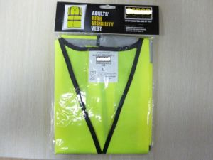 Reflective Safety Vest with Headercard Package pictures & photos