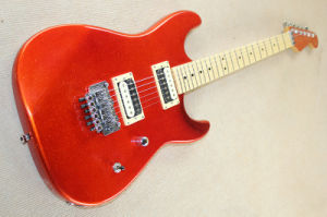 Hanhai Music/Red Grain Electric Guitar with Floyd Rose pictures & photos