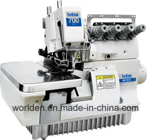BR-700-5/5H Series Five Thread Overlock Sewing Machine pictures & photos