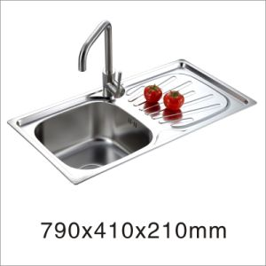 2015 New Hot Stainless Steel Kitchen Sink (7941) pictures & photos