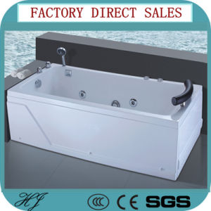 Factory Outlet Acrylic Freestanding Massage Bathtub (538) pictures & photos