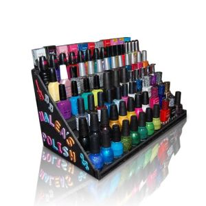 Printed Acrylic Counter Top Display for Nail Polish pictures & photos