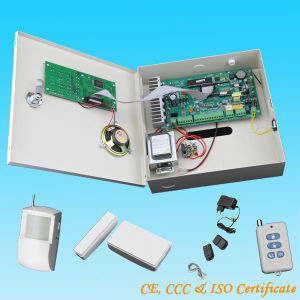 Wireless Digital Home Security Alarm System with Remote Controller (KRS003)