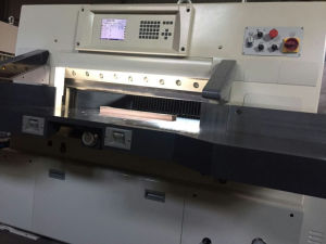 Paper Cutting Machine with Program Control (Model QZYK-DF) pictures & photos