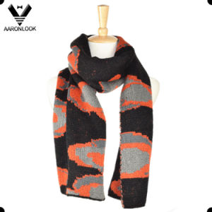 2016 Winter Intarsia Jacquard Knit Pattern Custom Design Scarf pictures & photos