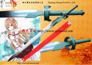 Sword Art Online Asuna Yuuki Lambient Light White Carbon Steel Replica Sword
