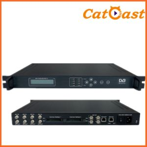 DVB-S2 with RF in to 4*Asi IP out Ci IRD